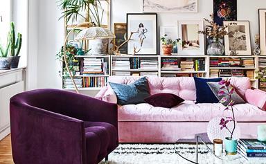 A modern-boho apartment with an international feel