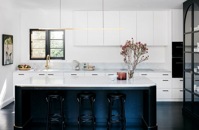 Sydney kitchen by Arent & Pyke and Luke Maloney Architecture. Photograph by Felix Forest. From *Belle* April 2018.