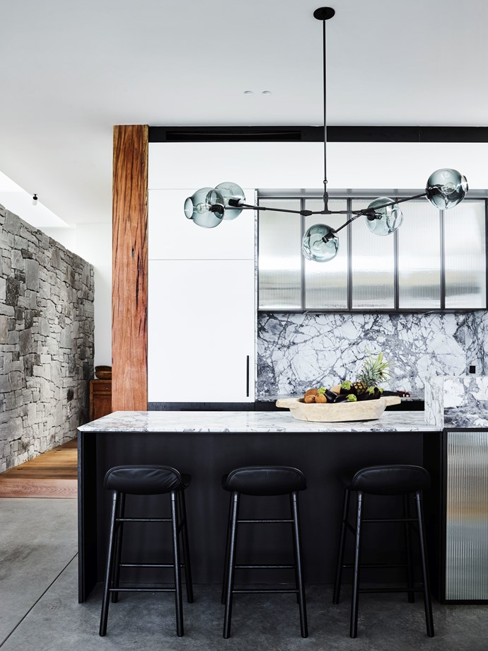 NSW kitchen by Decus and Square Design. Photograph by Anson Smart. Styling by Alexandra Gordon. From *Belle* April 2018.