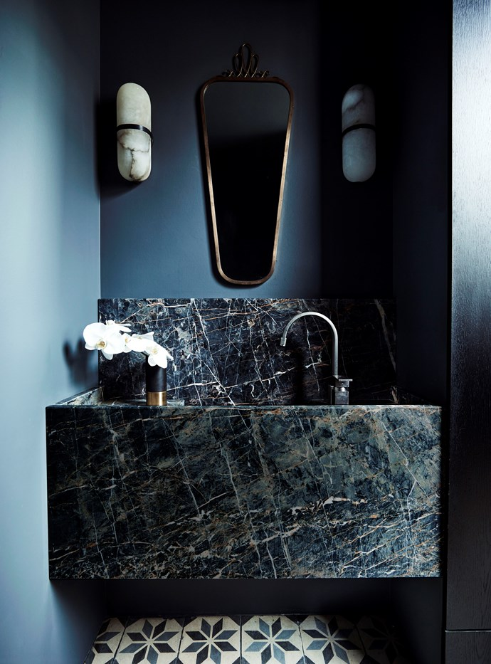 NSW bathroom by Decus and Square Design. Photograph by Anson Smart. Styling by Alexandra Gordon. From *Belle* April 2018.