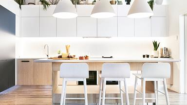 The Block judge Darren Palmer reveals his contemporary kitchen renovation