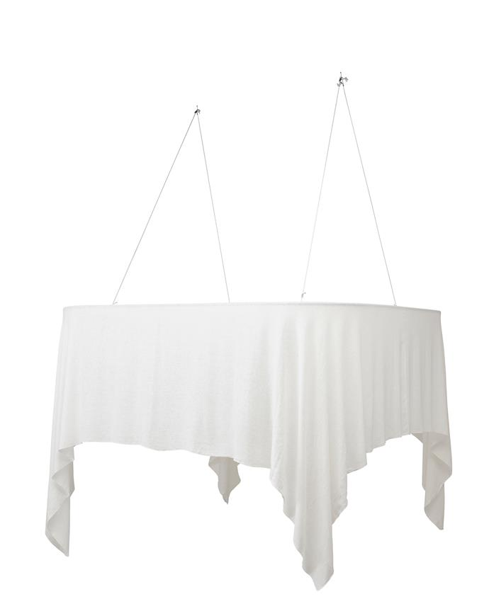 Bed canopy, $99.