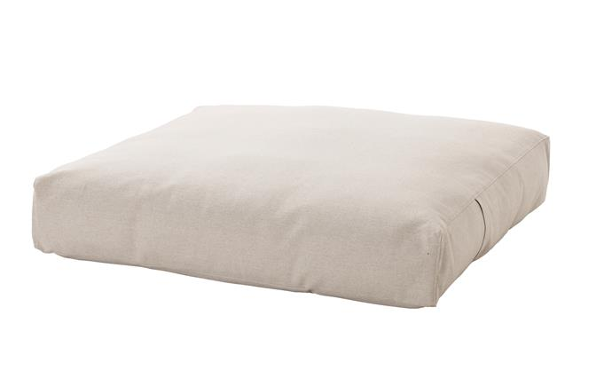 Floor cushion, $129.