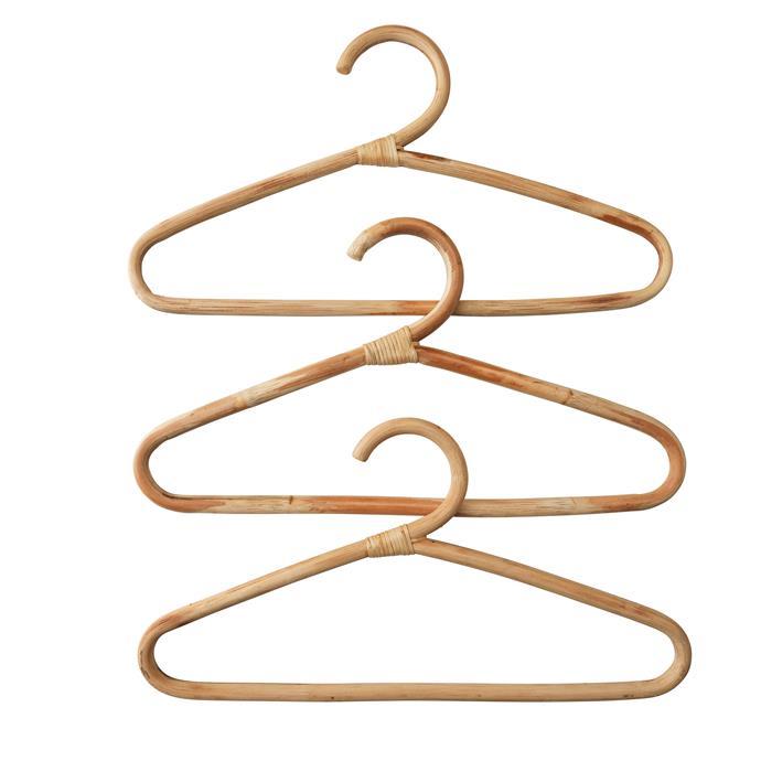 Hangers (3 pack), $5.99.