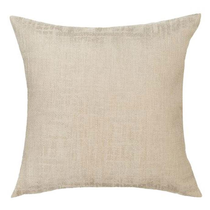 "LIRA cushion, $40, from [Freedom](https://www.freedom.com.au/decorate/cushions-throws/all-cushions-and-throws/420/23718517/lira-cushion-in-gold-colour?reflist=Product%20Search%20Listing|target=""_blank"")."
