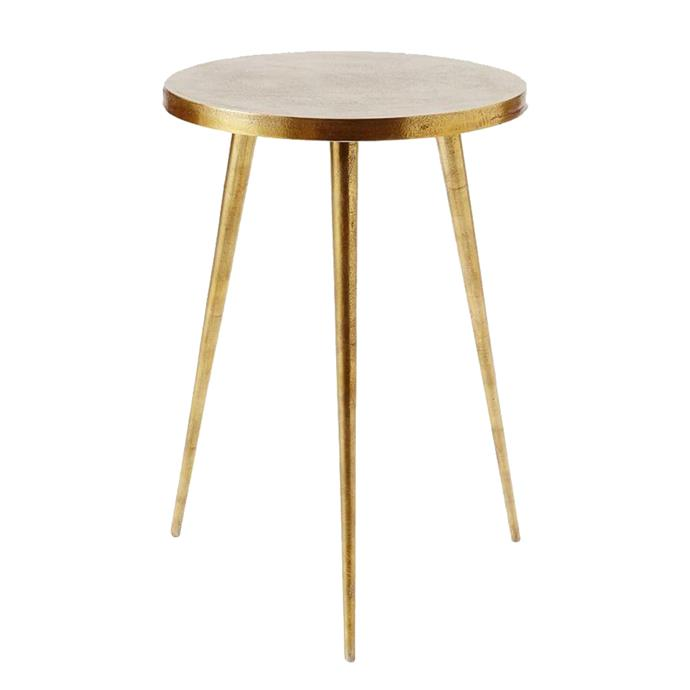 "Tripod Side Table, $199, from [West Elm](https://rstyle.me/n/cz552uvs36|target=""_blank"")."