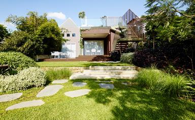 A lush entertainer's garden in Sydney's inner-west