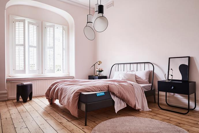 Soothing Millennial pink is the colour of the moment. Photo: Mike Baker | Styling: Heather Nette King