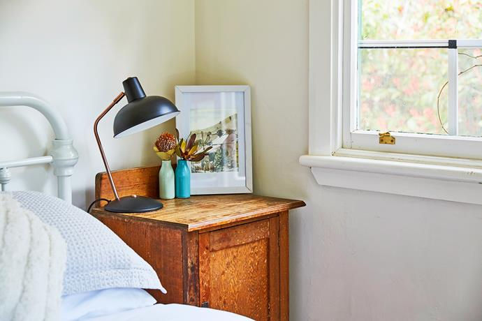 A good bedside reading lamp is a useful inclusion in a holiday home.
