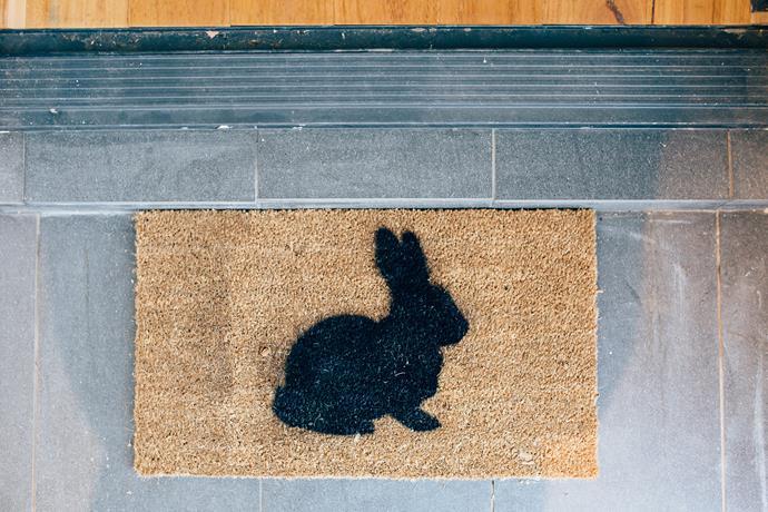 Floor Matters Plain Coir Door Mat 35x60cm, $7, Big W.
