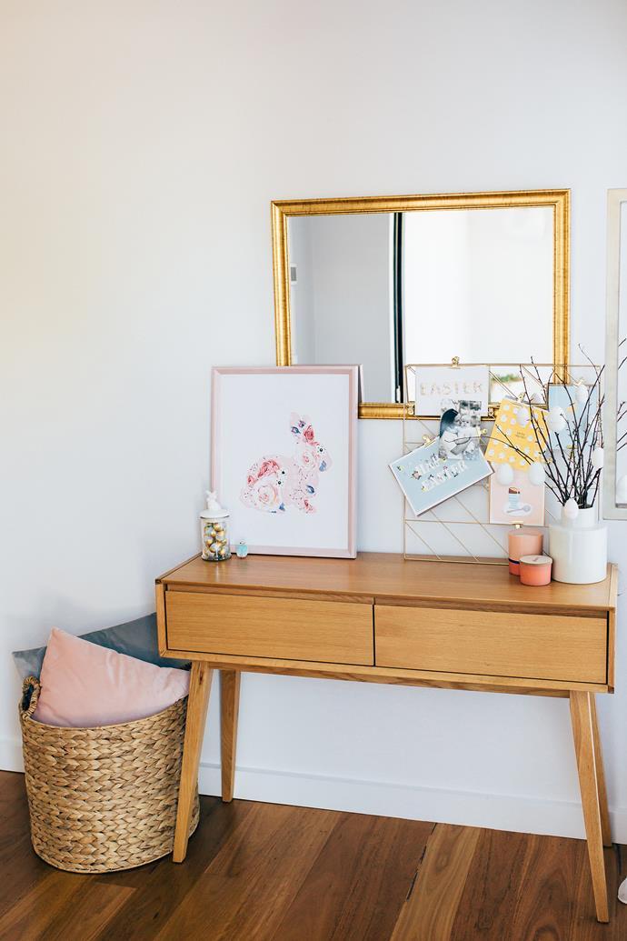 Design House 50x50cm Memo Board in Gold, $19, Big W.