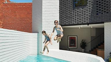 Small-space pool design that pushes the boundaries