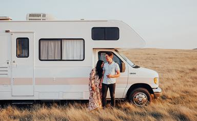 Life on the road in a renovated motorhome