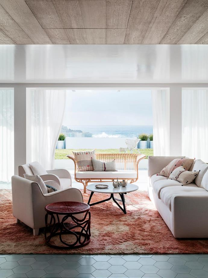"Beach House by SJB. [Vote for this project!](https://www.homestolove.com.au/bellecoco-republic-interior-design-awards-2018-readers-choice-6497|target=""_blank"") *Photography: Felix Forest*"