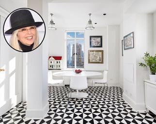 Diane Keaton Home