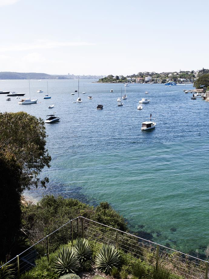 View of Parsley Bay, a Sydney Harbour enclave.