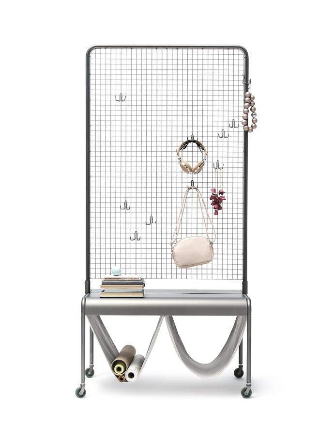 Store and decorate with things you like to give your home a personal touch with the VEBEROD Room Divider, $199.