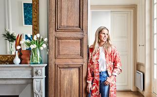 Lucy Folk Paris apartment