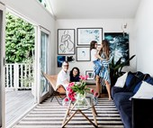 Influencer Tash Sefton's stylish Sydney home