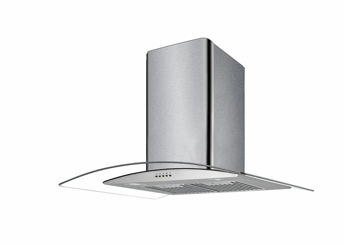 Stirling 90cm Glass Canopy Rangehood, $199.