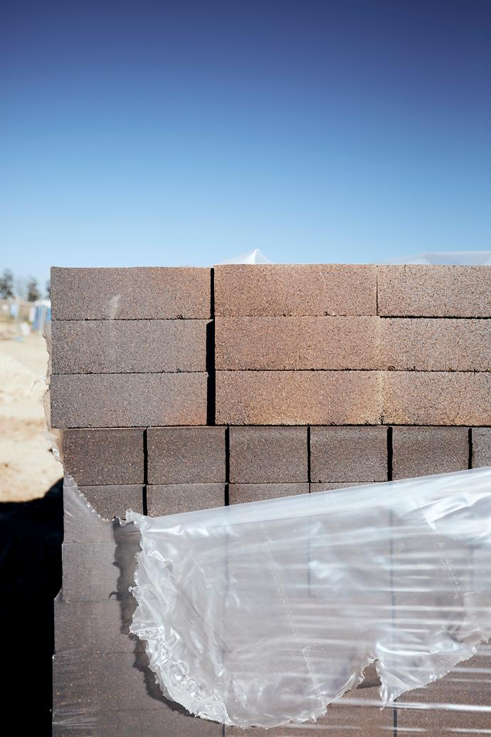 """**APRIL 18, 2018: ALL SET FOR BRICK SEATING** <br><br> One of the features [Garden Life](https://gardenlife.com.au/