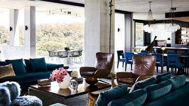 A Modernist home with a maximalist interior