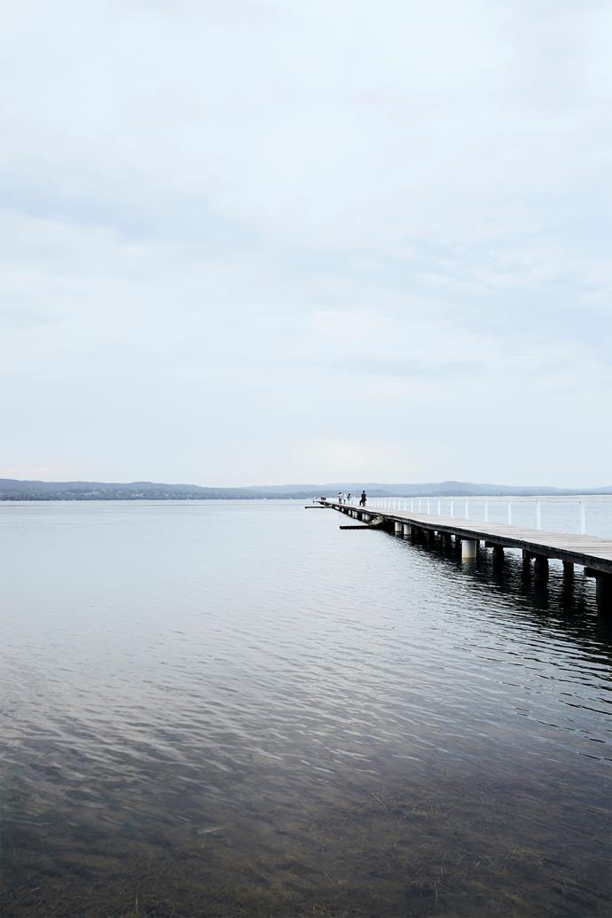 The town's namesake (which is the ripe old age of 103) is a 351-metre long jetty, and is one of three in the area.