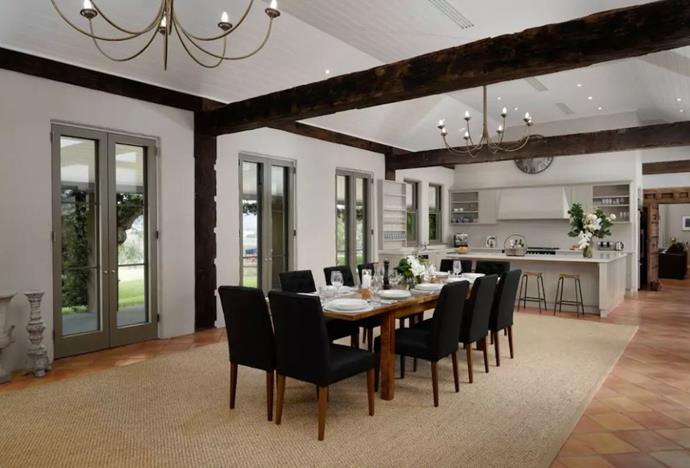"""**[Hunter Valley, New South Wales](https://www.airbnb.com.au/rooms/21550989?location=Australia&s=U5X7a8re target=""""_blank"""")** <br><br> The Loggerheads Homestead consists of three adjoining pavilions, surrounded by a collection of outbuildings, creating a village like setting. The sophisticated retreat can hold up to 12 guests and is equipped with six bedrooms and six bathrooms. The abode is surrounded by beautiful gardens, a swimming pool and vineyard.   <br><br> Price: from $1,651 per night."""