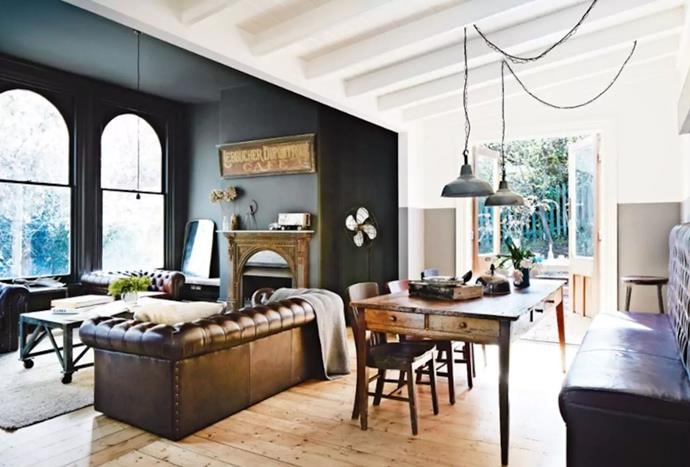 """**[Daylesford, Victoria](https://www.airbnb.com.au/rooms/1517564?s=npTK&sug=50 target=""""_blank"""")** <br><br> The interiors of this vintage home were styled by Kali Cavanagh, an Australian interior designer.  With three bedrooms and three bathrooms, the luxury accommodation can fit up to six guests and boasts a dreamy rustic style aesthetic.  <br><br> Price: from $495 per night."""