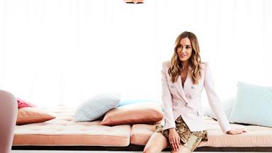 Inside Bec Judd's luxurious walk-in wardrobe