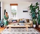 Jewellery designer Holly Ryan's minimalist boho home