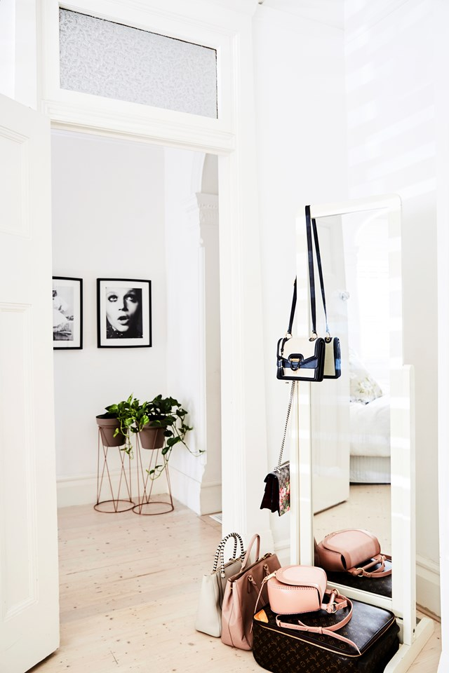 "As the co-founder of a beloved Australian label, it's no surprised that Lizzie Renkert's love of fashion is evident the second you step into her [feminine Federation-style home](https://www.homestolove.com.au/inside-a-fashionistas-federation-style-home-6575|target=""_blank""). ""Growing up, our family home was filled with florals and prints, which really shaped our love of these fabrics, which also comes through in our fashion label, We Are Kindred.,"" she says. *Photo:* Kristina Soljo"
