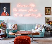 Angela Missoni's flamboyant mid century villa