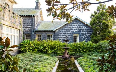 Restored inner city garden becomes country style sanctuary