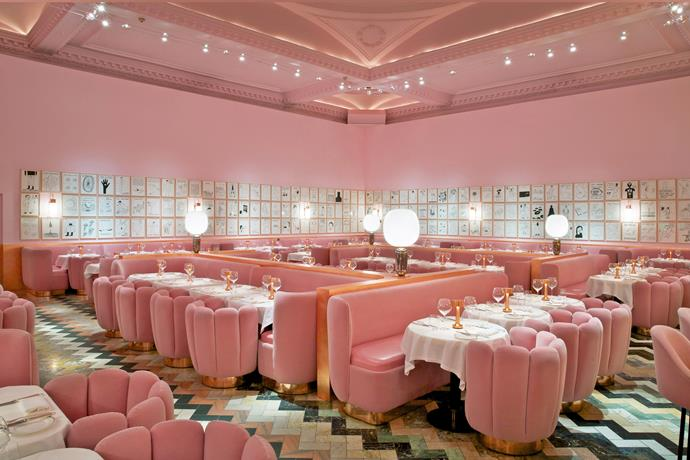In the pink of *Sketch*, a destination for food, drinks and art in Mayfair, London. *Photo: bauersyndication.com.au*