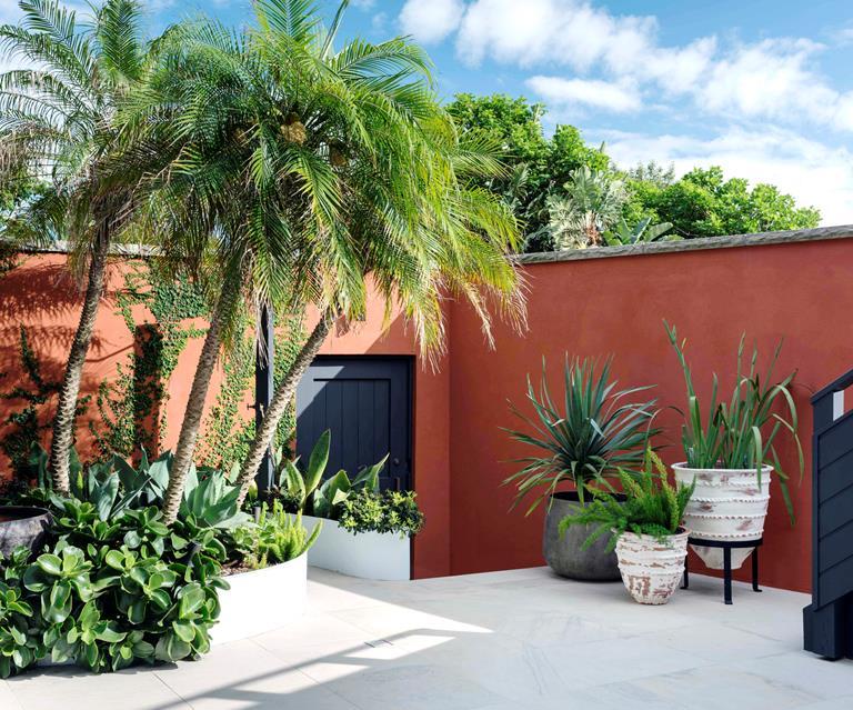 Courtyard Garden Design Perth - Type Of Garden