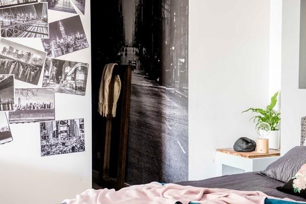 David and Chiara's master bedroom. *Photo: 7Plus*