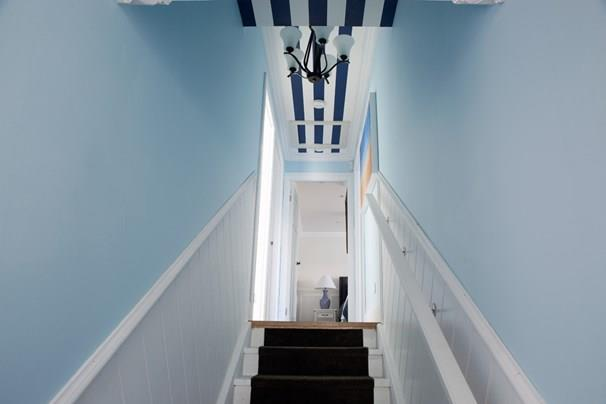 David and Chiara's hallway did not impress the judges.