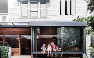 Expanding old homes with modern extensions