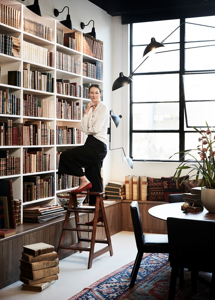 "***Best Commercial Interior:*** Kate Nixon of [Studio Kate](https://www.studiokate.com.au/|target=""_blank""|rel=""nofollow"") (Busatti) for Hordern House."