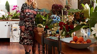 The founder of Grandiflora's Sydney home and studio