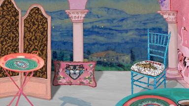 Gucci's home décor collection is now available online