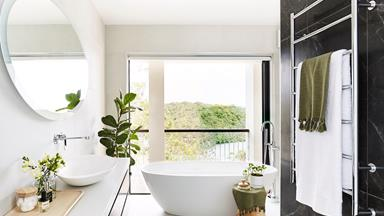 Award-winning bathroom with a view