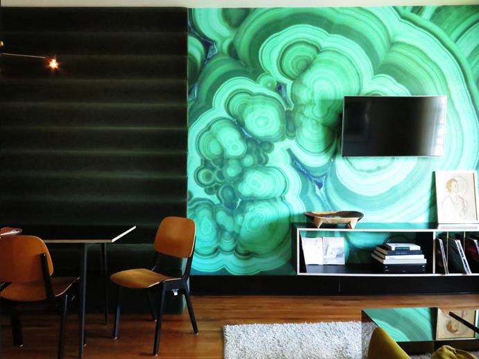 Imaginative design at Hotel Covell.