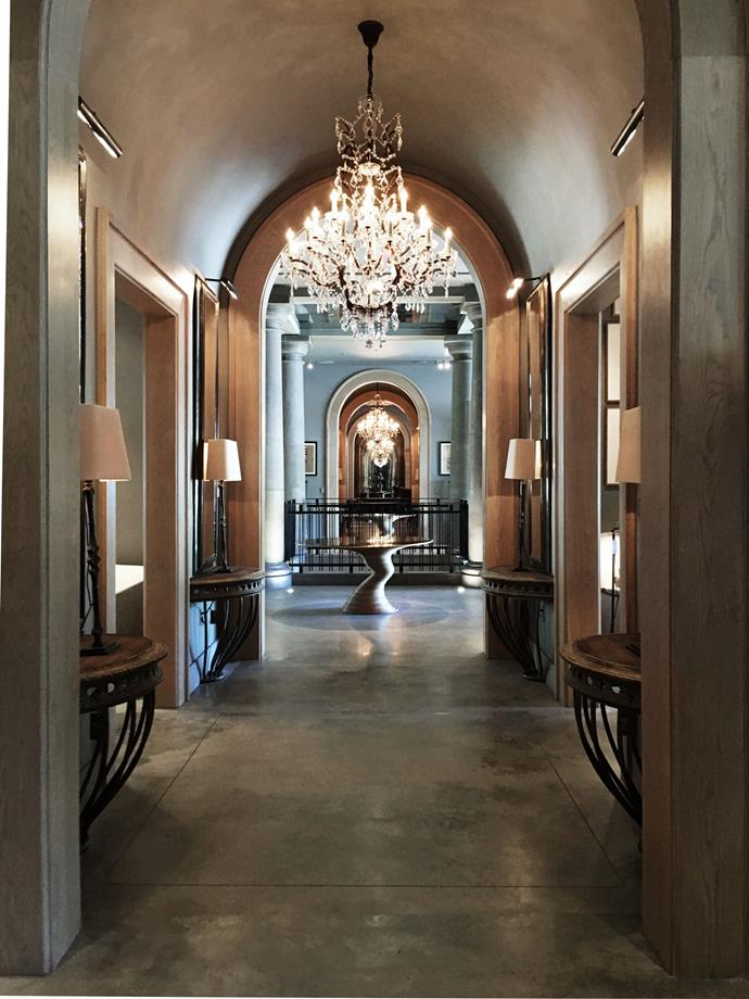 Enticing bling perfectly curated at Restoration Hardware.