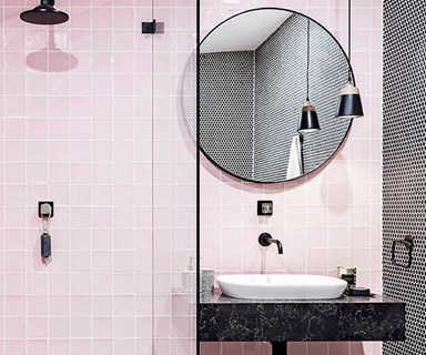 10 homes with statement tiles