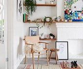 A colourful new take on Scandi style