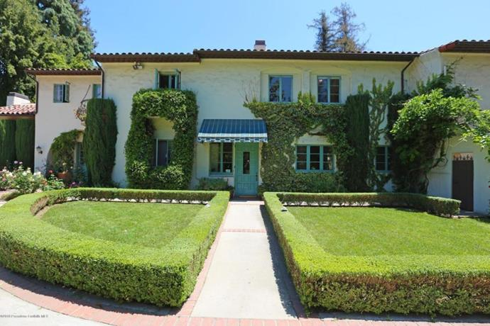 The upper-storey bedrooms overlook the private side garden. *Photo: Compass*