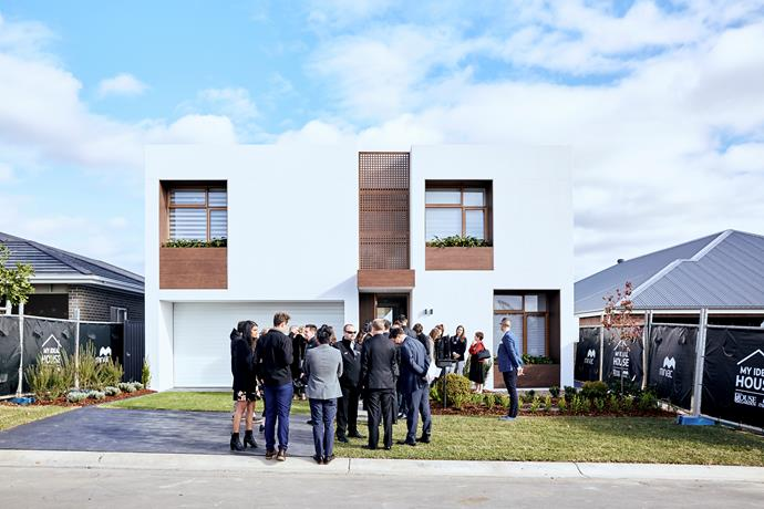 """**JUNE 4, 2018: IT'S A WRAP - MY IDEAL HOUSE IS COMPLETE!** <br><br> It's with great pride we can announce that My Ideal House is complete! About 100 guests of [Mirvac](https://www.mirvac.com/