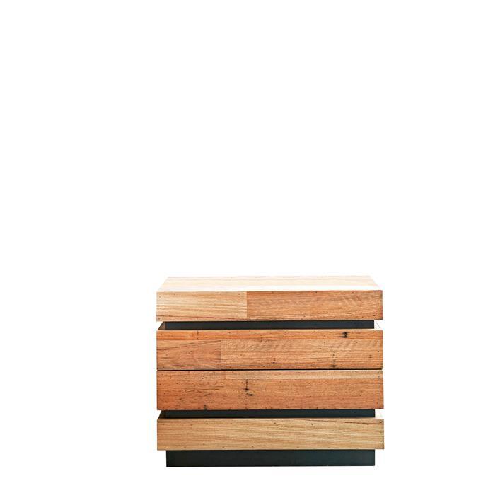 "'Brandon' silvertop ash two-drawer **bedside table**, $949, from [Harvey Norman](https://www.harveynorman.com.au/brandon-bedside-table.html|target=""_blank""|rel=""nofollow"")."